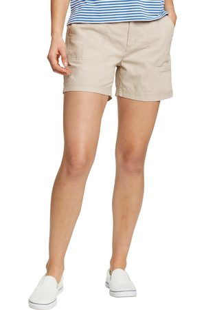Eddie Bauer Damen Shorts - Adventure Ripstop Shorts Damen Natur Gr. 4