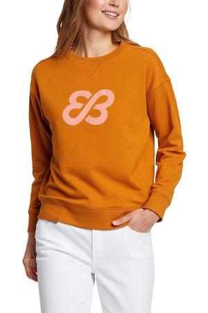 Eddie Bauer Damen Sweatshirts - Cozy Camp Fleece Logo Sweatshirt Damen Gr. XS