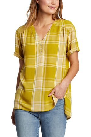 Eddie Bauer Damen T-Shirts - Rivierah Shirt - kurzarm Damen Gr. XS