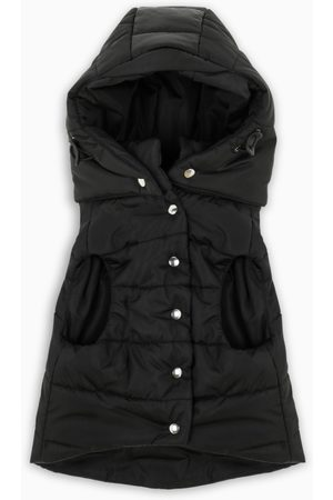 Prada Mäntel - Black nylon down coat