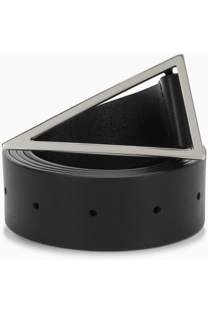Bottega Veneta Triangular buckle belt