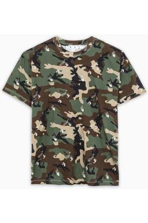OFF-WHITE Herren Shirts - ™ T-shirt with camouflage print