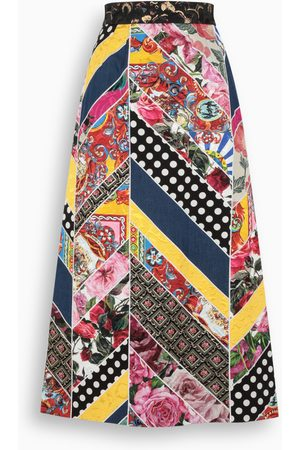 Dolce & Gabbana Patchwork long skirt