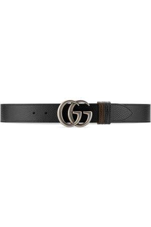 Gucci Herren Gürtel - Breiter, wendbarer GG Marmont Gürtel