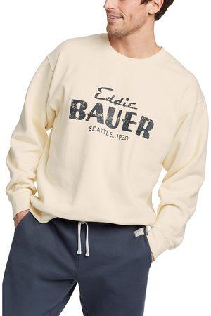 Eddie Bauer Herren Sweatshirts - Signature Sweatshirt mit Logo Herren Natur Gr. S