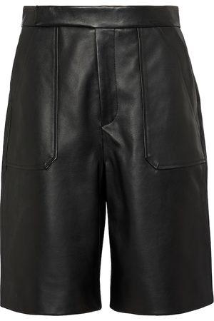 Khaite Damen Shorts - Shorts Theresa aus Leder