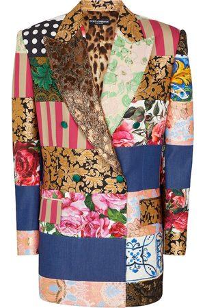 Dolce & Gabbana Damen Blazer & Sakkos - Blazer aus Jacquard und Brokat