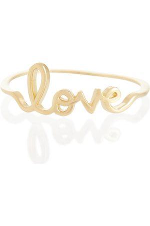 Sydney Evan Ring Love aus 14kt Gelbgold