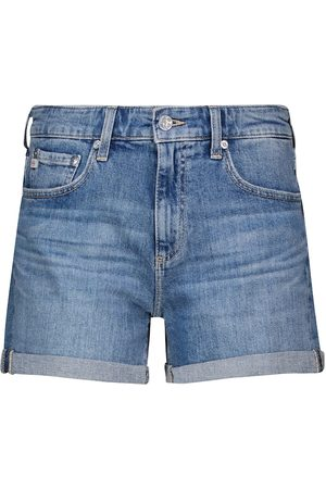 AG Jeans Damen Shorts - High-Rise Jeansshorts Hailey