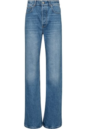 Paco rabanne Damen High Waisted - High-Rise Flared Jeans