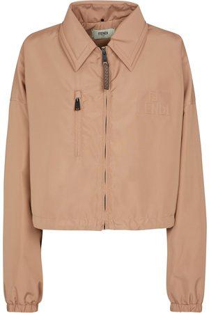 Fendi Damen Outdoorjacken - Jacke aus Nylon