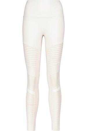 alo Damen Leggings & Treggings - High-Rise Leggings Moto