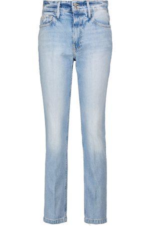 Frame Damen High Waisted - High-Rise Jeans Le Sylvie Slender