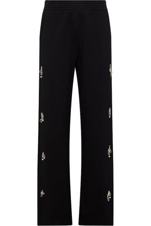 Givenchy Damen Jogginghosen - Verzierte Jogginghose aus Baumwolle