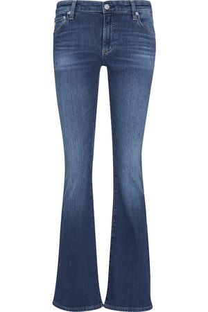 AG Jeans Damen High Waisted - Low-Rise Flared Jeans