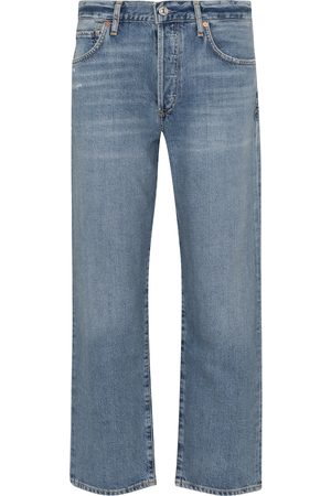 Citizens of Humanity High-Rise Straight Jeans Emery