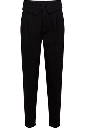 J Brand High-Rise Straight Jeans Fold Over