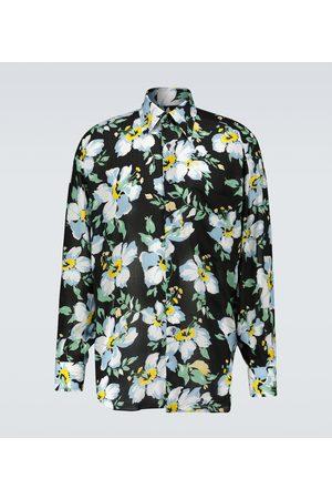Tom Ford Bedrucktes Oversize-Hemd aus Lyocell