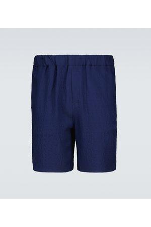 Ami Bermuda-Shorts aus Crêpe