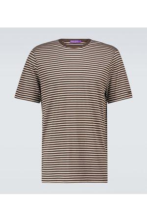 Ralph Lauren Gestreiftes T-Shirt mit Baumwollanteil