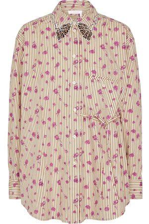 Chloé Bedruckte Bluse aus Baumwolle
