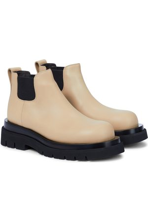 Bottega Veneta Chelsea Boots Lug aus Leder