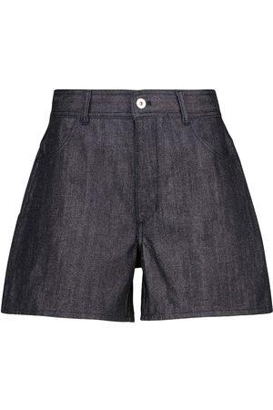 Jil Sander High-Rise Jeansshorts