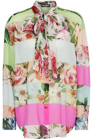 Dolce & Gabbana Bluse aus Seiden-Georgette