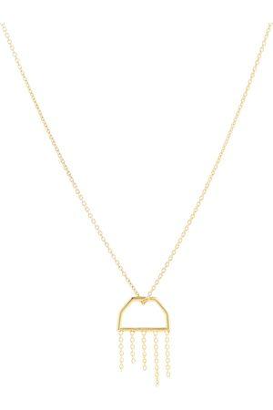 Aliita Halskette Medusa aus 9kt Gelbgold