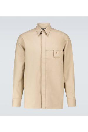 Givenchy Hemd aus Baumwoll-Gabardine