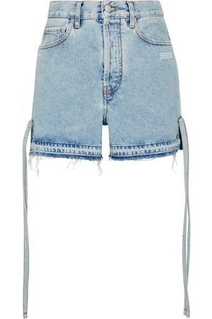 OFF-WHITE High-Rise Jeansshorts