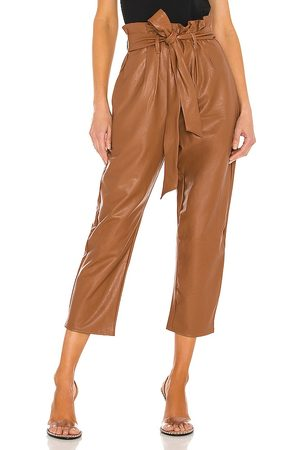 Commando Faux Leather Paperbag Pant in . Size XS, S, M.