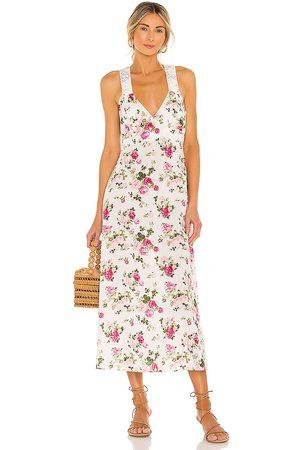 LOVESHACKFANCY Damen Slips - Sabina Slip Dress in . Size 4, 2, 6, 8.