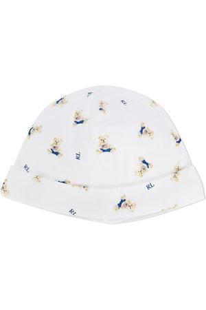 Ralph Lauren Mütze mit Teddymotiv
