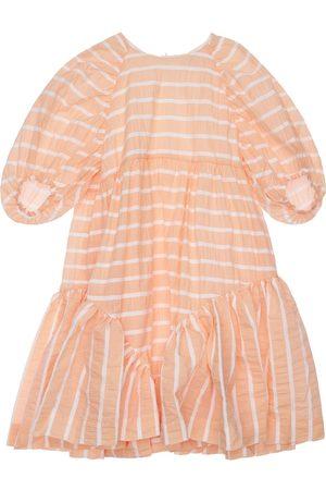 Unlabel Kleid Aus Baumwollmischung Mit Rüschen