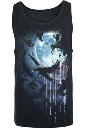 Spiral Herren Shirts - Crow Moon Tank-Top