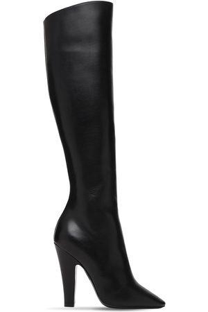 "Saint Laurent Damen Stiefel - 110mm Hohe Lederstiefel ""68"""