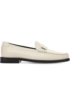 Saint Laurent Damen Halbschuhe - 15mm Hohe Loafers Aus Leder