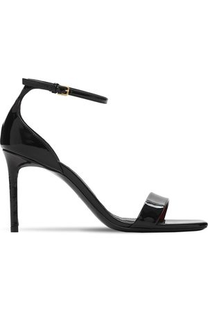 """Saint Laurent Damen Sandalen - 85mm Hohe Sandaletten Aus Leder """"amber"""""""