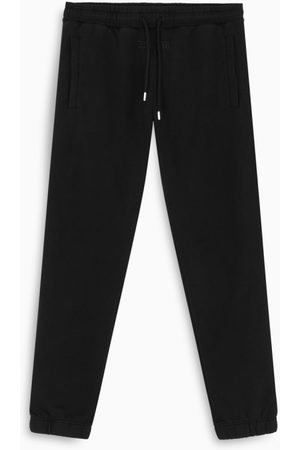Bel-Air Athletics Black cotton jogging trousers