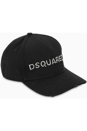 Dsquared2 Black cap with logo lettering