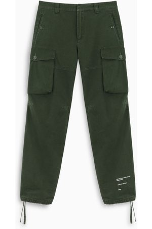 OFF-WHITE ™ Military green cargo trousers