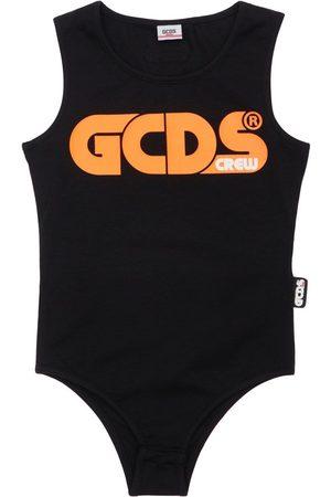 GCDS Body Aus Stretch-jersey