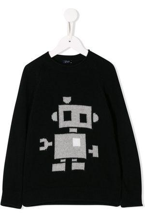 Il Gufo Pullover mit Print
