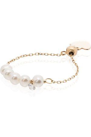 Persée Damen Ringe - 18kt yellow pearl ring