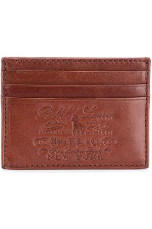 Polo Ralph Lauren Herren Geldbörsen & Etuis - Kartenetui mit Logo-Prägung