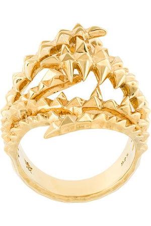 KASUN LONDON Damen Ringe - The Blades of Octopi' Ring