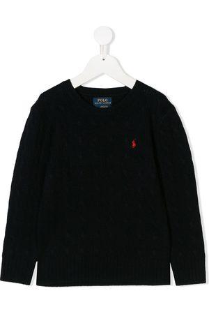 Ralph Lauren Jungen Strickpullover - Pullover mit rundem Ausschnitt