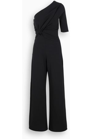 Stella McCartney Black one-shoulder jumpsuit