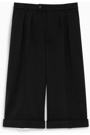 Saint Laurent Black tailored bermuda